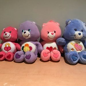 Other - Lot of 4 CareBears (1 speaks)-Excellent Condition!